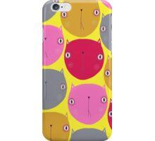 C A T S iPhone Case/Skin