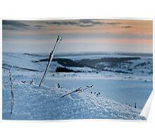 The Bleak Mid-Moor Winter Frozen Life  Poster