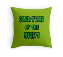 Creature Of The Night 2 Throw Pillow