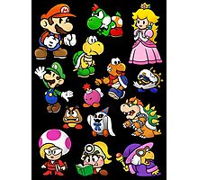 Paper Mario Collection Photographic Print