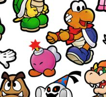 Paper Mario Collection Sticker