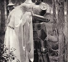 The Disguised Princess Rescuing The Lady Amoret by Go-Postal