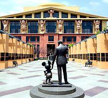 The Walt Disney Studios - The Michael D. Eisner Building by ShopGirl91706