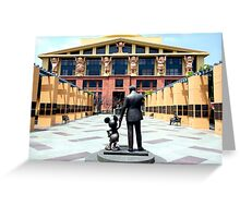 The Walt Disney Studios - The Michael D. Eisner Building Greeting Card