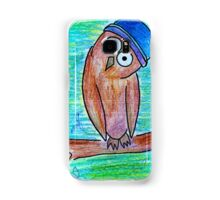 James the Owl Samsung Galaxy Case/Skin