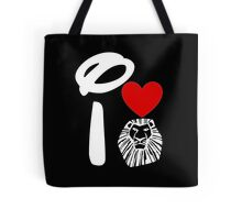I Heart The Lion King (Inverted) Tote Bag