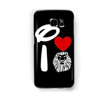 I Heart The Lion King (Inverted) Samsung Galaxy Case/Skin