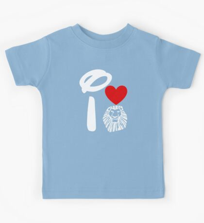 I Heart The Lion King (Inverted) Kids Tee