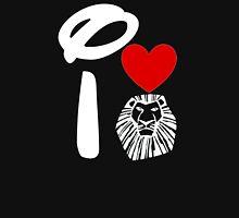 I Heart The Lion King (Inverted) Unisex T-Shirt