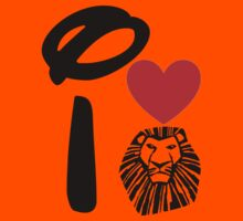 I Heart The Lion King Kids Clothes