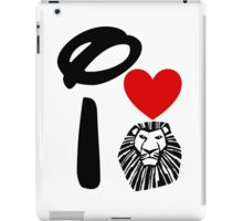 I Heart The Lion King iPad Case/Skin