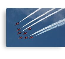 The Red Arrows 9 Canvas Print