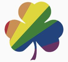 Gay Pride Shamrock T Shirts, Stickers and Other Gifts Kids Clothes