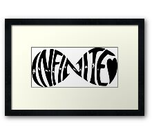 Infinite Infinity Framed Print