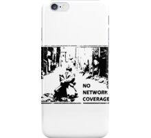 NO NETWORK COVERAGE  iPhone Case/Skin