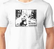 NO NETWORK COVERAGE  Unisex T-Shirt