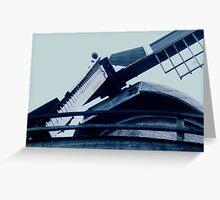 windmill in tulip garden,golden gate park Greeting Card