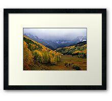 Little Meadow of the Sublime Framed Print