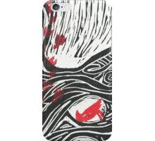 Wisdom of Trees - Red Raven iPhone Case/Skin