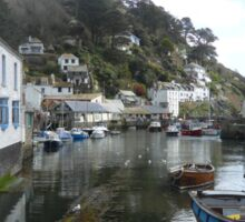 Polperro Harbour Sticker