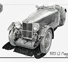 1933 MG L2 Magna by Steven Lance  Overfield