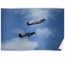 BBMF fly past  Poster