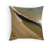 Tide Tidings, East Head, West Wittering Throw Pillow