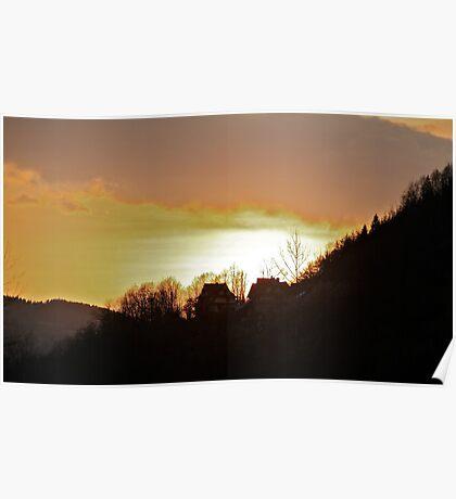Landscape  .Gorce Mountains . Poland. Views (296) thx!!! Poster