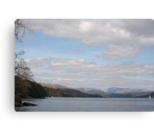 Peaceful Coniston Water, The Lake District, England Canvas Print
