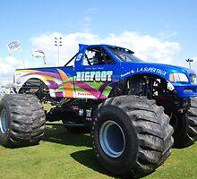 Bigfoot Monster Truck at Truckfest by Carl Wass