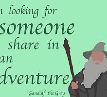 The Hobbit Gandalf Adventure by daisychain27