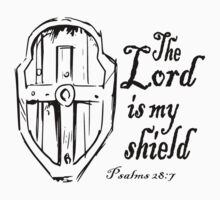 THE LORD IS MY SHIELD Kids Clothes