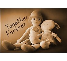 Together Forever Photographic Print