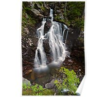 Upper Section of Corney Brook Falls Poster