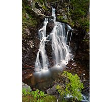 Upper Section of Corney Brook Falls Photographic Print