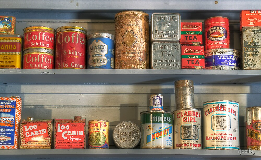 Old Cans  by rjcolby