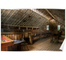 Stolte Apple Packing Shed Poster