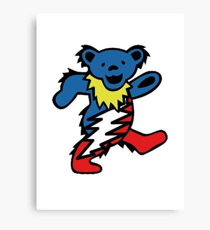 Lightning Bear Canvas Print