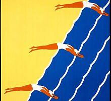 Australia Vintage Poster Restored by Carsten Reisinger