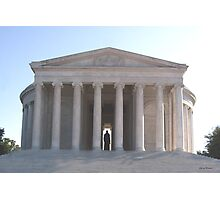 Jefferson Memorial 002 Photographic Print