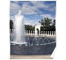 World War 2 Memorial 001 Poster