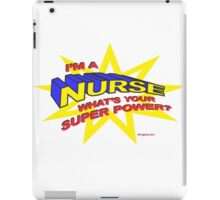 Super Nurse iPad Case/Skin