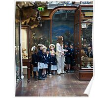 School visit to the museum Poster