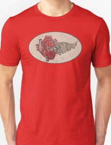 As the heart flies T-Shirt