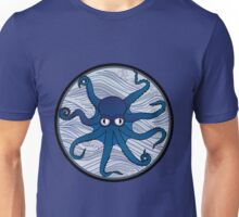 Octopus Blue Unisex T-Shirt