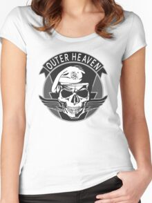 Outer Heaven - 2015 Edition (MGSV) Women's Fitted Scoop T-Shirt