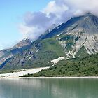 Canadian lake and mountains by kathiemt