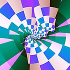 Checkered Past (Blue) by Bunny Clarke