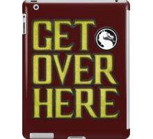 Mortal Kombat - Get Over Here iPad Case/Skin