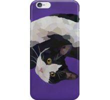 Zorro is watching - Purple iPhone Case/Skin